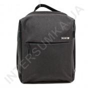 городской рюкзак WALLABY 9291 black 2 отдела + отдел под ноутбук+usb