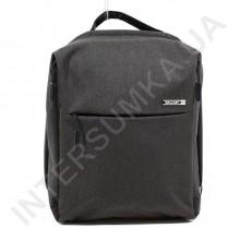 міський рюкзак WALLABY 9291 black 2 відділа + відділ під ноутбук + usb