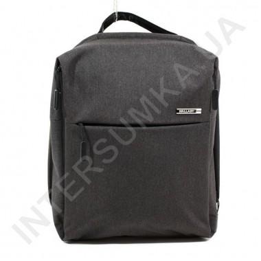 Заказать городской рюкзак WALLABY 9291 black 2 отдела + отдел под ноутбук+usb в Intersumka.ua