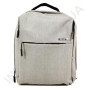 городской рюкзак WALLABY 9291 grey 2 отдела + отдел под ноутбук+usb