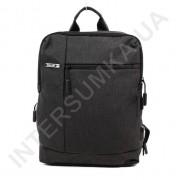 городской рюкзак WALLABY 9304 black 2 отдела + отдел под ноутбук+usb