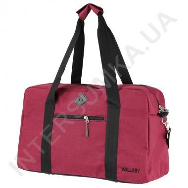 Заказать сумка дорожная Wallaby 2550 бордовая в Intersumka.ua
