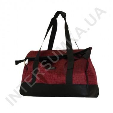 Купить сумка-саквояж Wallaby 44751 бордовый с фактурой ткани под рептилию