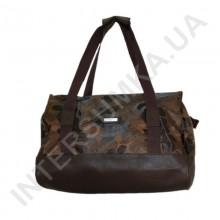 сумка-саквояж Wallaby 44751 коричневые листья