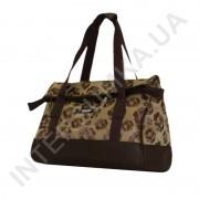Купить сумка-саквояж Wallaby 44751 коричневые розы