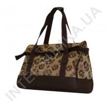 сумка-саквояж Wallaby 44751 коричневые розы