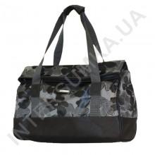 сумка-саквояж Wallaby 44751 серые листья