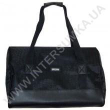 сумка-саквояж Wallaby 44751 черный с фактурой ткани под рептилию