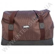 Купить сумка-саквояж Wallaby 44751 коричневый с фактурой ткани под рептилию