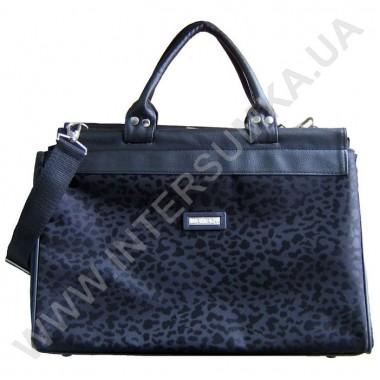 Купить сумка-саквояж малая Wallaby 4975 черный леопард