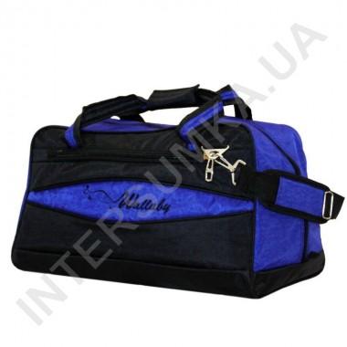 Заказать сумка дорожная Wallaby 217 черно-синяя в Intersumka.ua