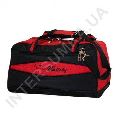 Заказать сумка дорожная Wallaby 217 черно-красная