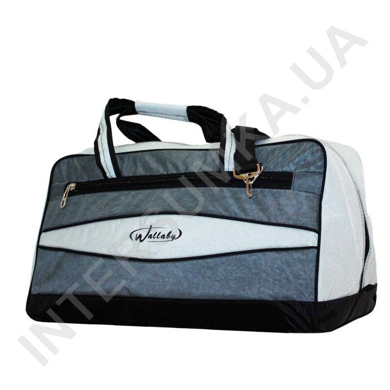 ... Купить сумка дорожная Wallaby 317 серая со светло-серыми вставками ... cdd47a8b3c631