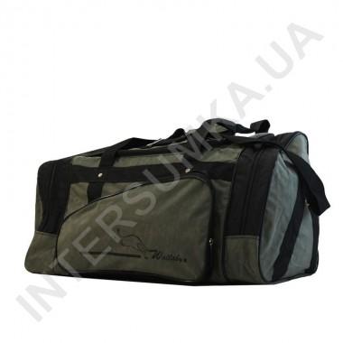 Заказать сумка спортивная Wallaby 371 цвета хаки с черными вставками в Intersumka.ua