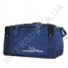 сумка спортивная Wallaby 437 синяя с черными вставками