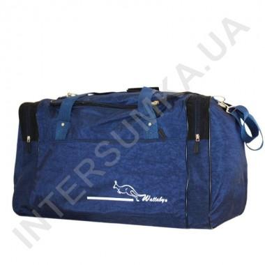 Заказать сумка спортивная Wallaby 437 синяя с черными вставками