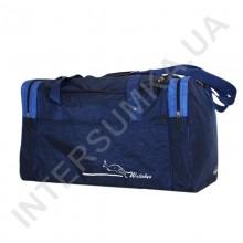 сумка спортивная Wallaby 437 синяя с голубыми вставками