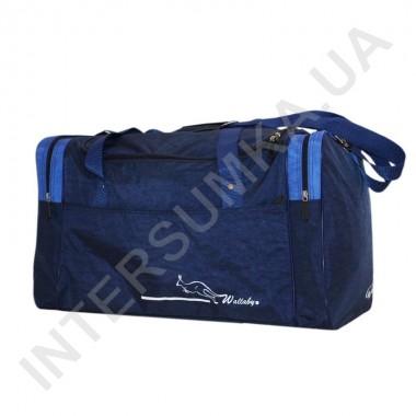 Заказать сумка спортивная Wallaby 437 синяя с голубыми вставками