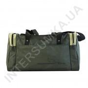 сумка спортивная Wallaby 437 хаки со вставками цвета оливка