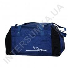 сумка спортивная Wallaby 447 синяя с черными вставками