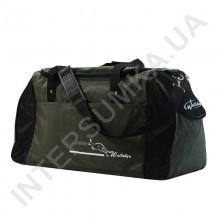 сумка спортивная Wallaby 447 хаки с черными вставками