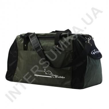 Заказать сумка спортивная Wallaby 447 хаки с черными вставками