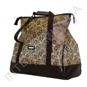 Купить сумка-саквояж Wallaby 44751 коричневые цветы