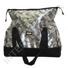 сумка-саквояж Wallaby 44751 серый с геометрическим рисунком