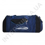 Купить сумка спортивная с расширением Wallaby 475 синяя с черными вставками