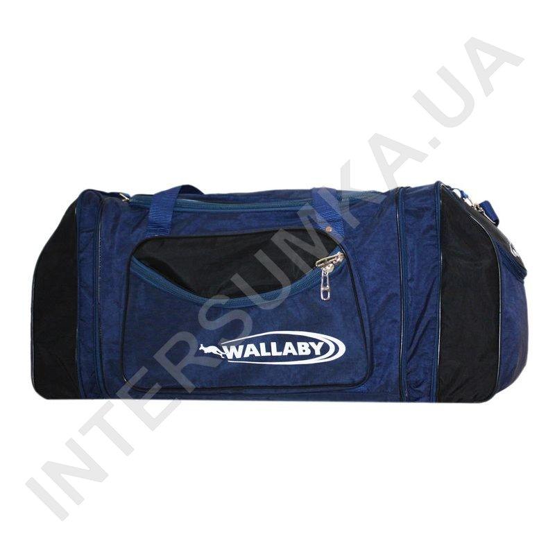 Заказать сумка спортивна з розширенням Wallaby 475 синя з чорними вставками 816d3b53e32a6
