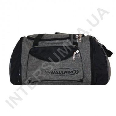 Заказать сумка спортивная с расширением Wallaby 475 хаки с черными вставками