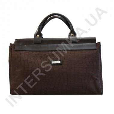 Заказать сумка-саквояж малая Wallaby 4975 тёмно-коричневый рисунок под рептилию