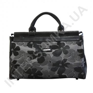 Заказать сумка-саквояж малая Wallaby 4975 серые цветы в Intersumka.ua
