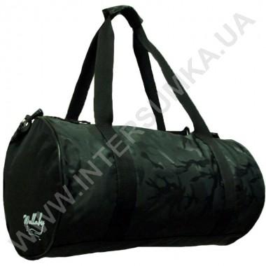 Заказать сумка для тренировок круглая Wallaby 214 черная в Intersumka.ua