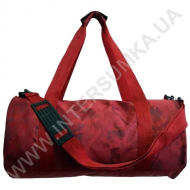 Заказать сумка для тренировок круглая Wallaby 214 красная в Intersumka.ua