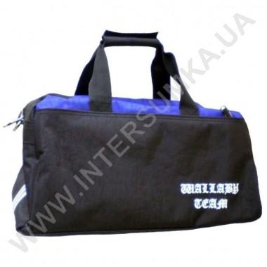 Заказать сумка спортивная Wallaby 215 черно-синяя