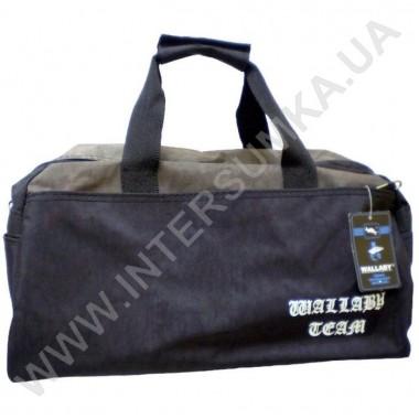 Заказать сумка спортивная Wallaby 215 черно-хаки