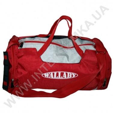 Заказать сумка спортивная Wallaby 216 красно-серая