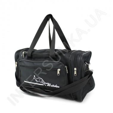 Заказать сумка спортивная малая Wallaby 2686 черная в Intersumka.ua