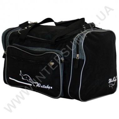 Заказать сумка спортивная малая Wallaby 270 черно-серая