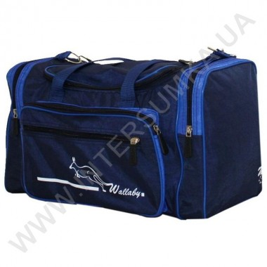 Заказать сумка спортивная малая Wallaby 270 син-гол