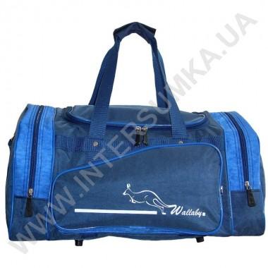 Заказать сумка спортивная Wallaby 271 сине-голубая в форме хлебницы в Intersumka.ua
