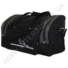 сумка спортивная Wallaby 271 чёрно-хаки в форме хлебницы