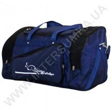 сумка спортивная Wallaby 271 сине-черная в форме хлебницы
