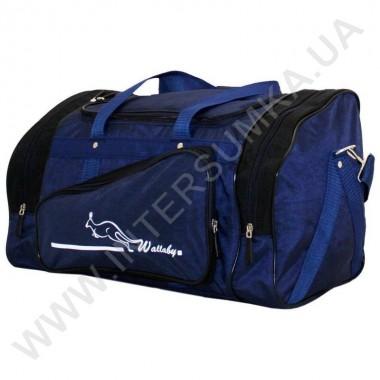 Заказать сумка спортивная Wallaby 271 сине-черная в форме хлебницы в Intersumka.ua