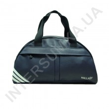 сумка дорожно-спортивная Wallaby 313 синяя, накатка три полосы