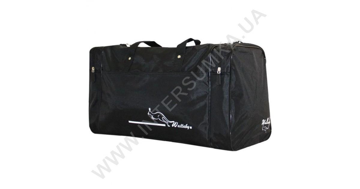 16e183dfaf48 Спортивная сумка Wallaby 340 черная, спортивные сумки в Киеве, Харькове,  Одессе, Днепре