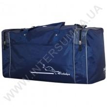сумка спортивная Wallaby 340 синяя с серыми вставками