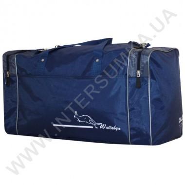 Заказать сумка спортивная Wallaby 340 синяя с серыми вставками
