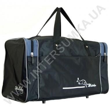 Заказать сумка спортивная Wallaby 340 черно-серая в Intersumka.ua